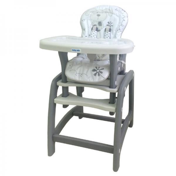 Baby mix DC01 szürke etetőszék asztallal - Babavilág Bababolt webáruház 9833b94393