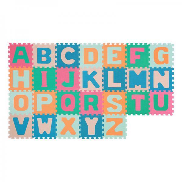 BabyOno 281 szivacspuzzle szőnyeg betűk 26db Babavilág