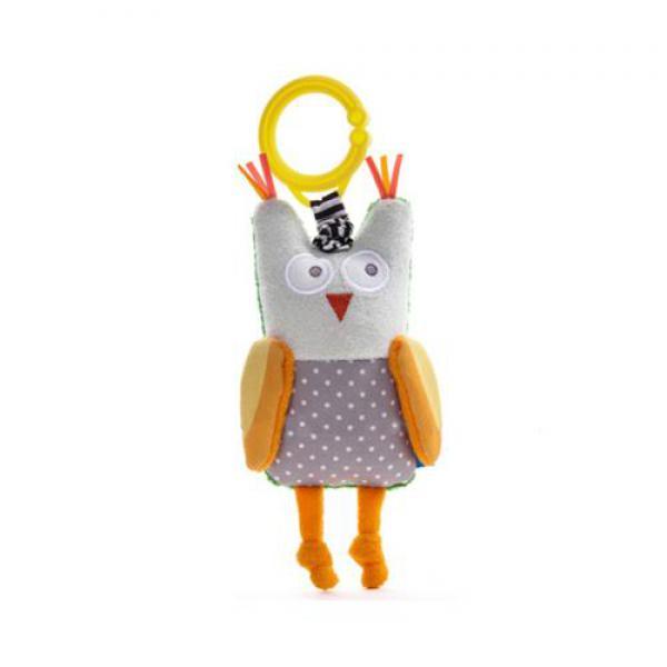 Taf Toys 11855 rezgö csörgö figura Obi a bagoly - Babavilág Bababolt ... 5b811c9add
